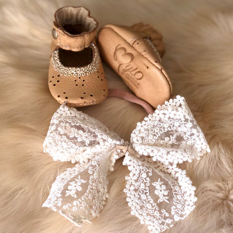 Lacey Bow Headband