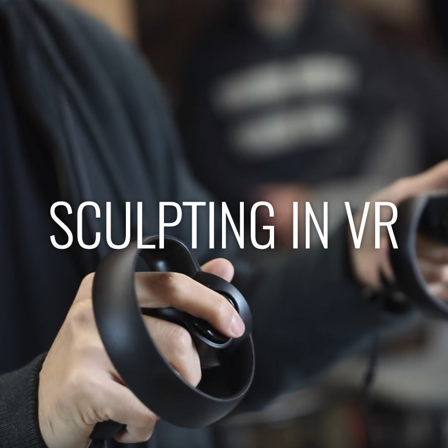 Sculpting In Virtual Reality