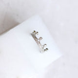 Crown Midi Ring