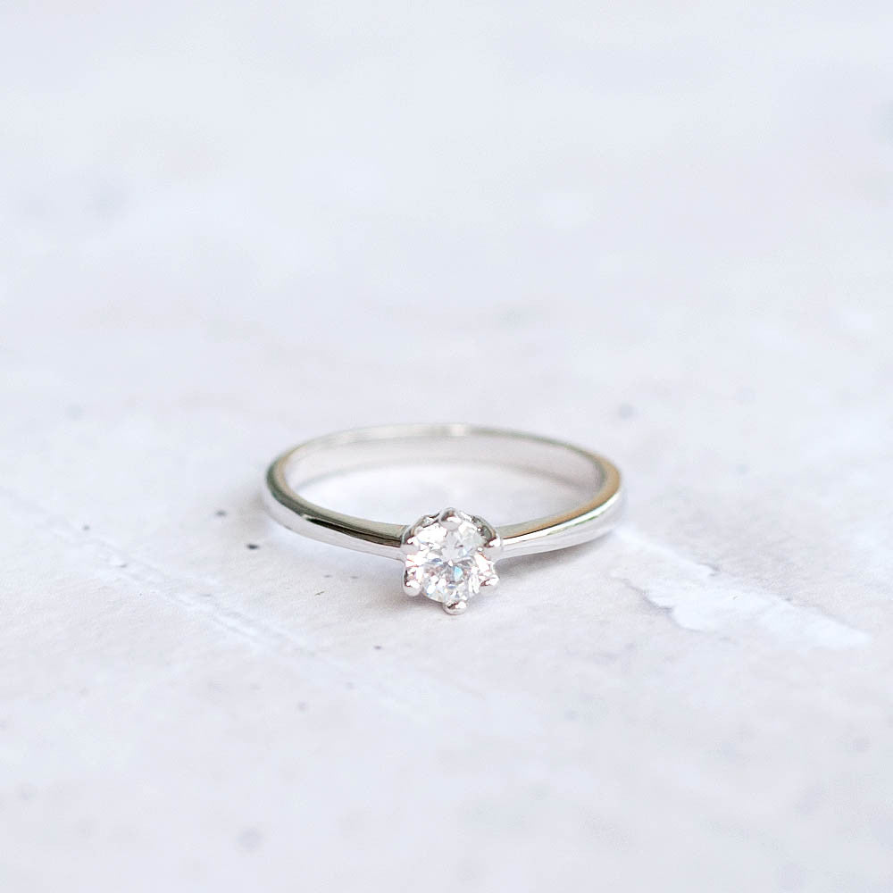 Small CZ Ring