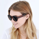 Round Retro Giraffe Sunglasses