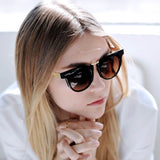 Round Edgy Sunglasses
