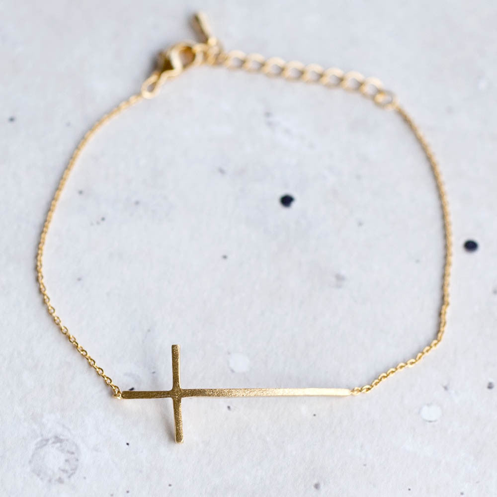 Long Cross Bracelet