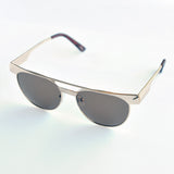 Browline Metal Sunglasses