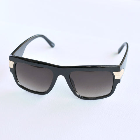Rectangled Shield Sunglasses