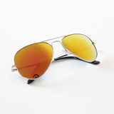Handpolished Mirrored Aviator Sunglasses