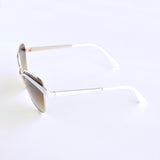 Hip Cateye Aviator Sunglasses