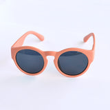 Round Retro Pink Sunglasses