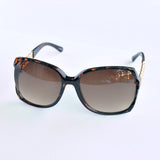 Chain Oversized Square Sunglasses