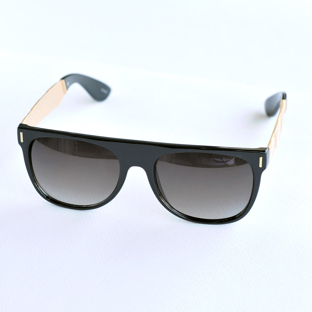 Black Shield Sunglasses
