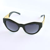 Chain Link Cateye Sunglasses