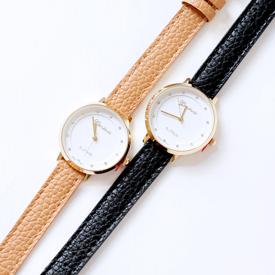 Chic Rhinestone Small Watch
