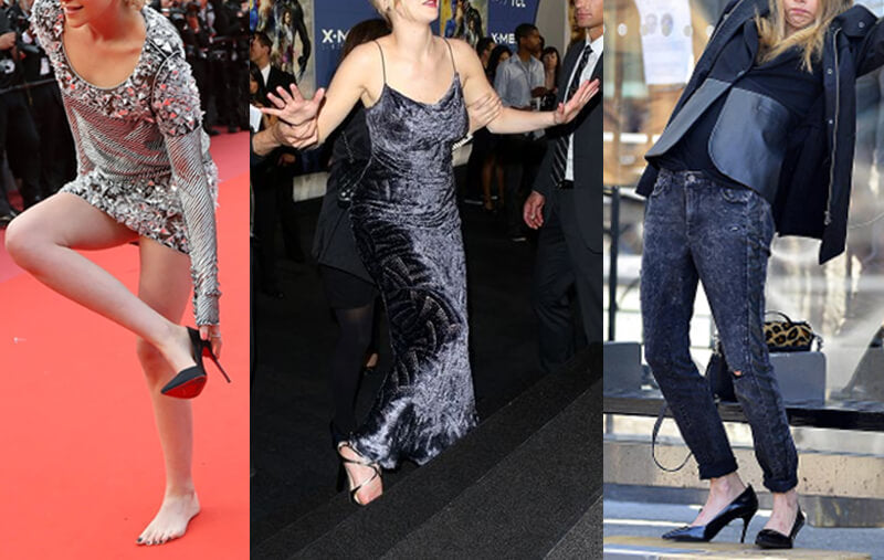 Celebrities Who Hate High Heels