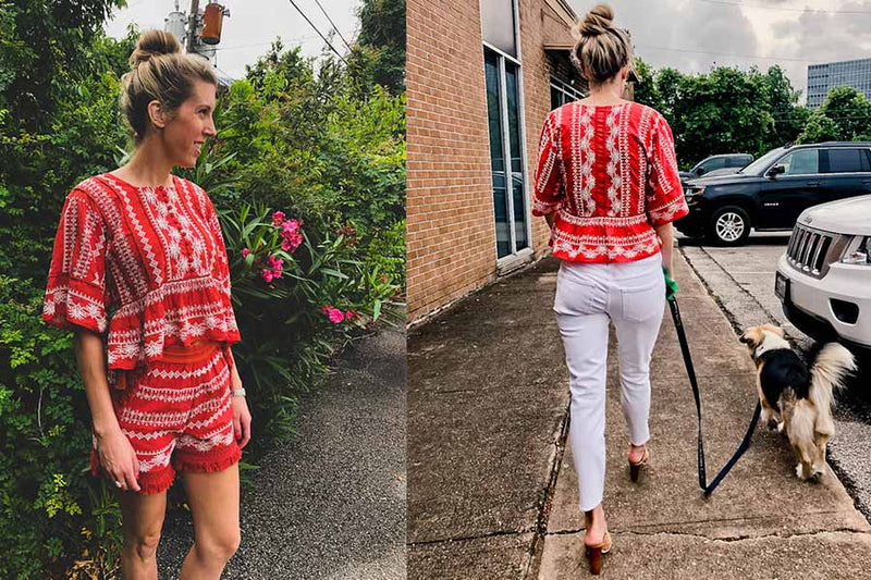 3 Ways to Wear Embroidery this Memorial Day