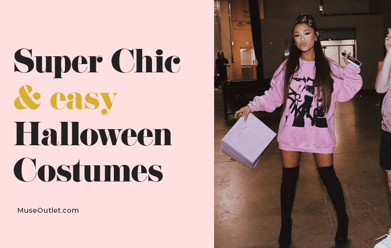 Super Chic Last-Minute Halloween Costumes