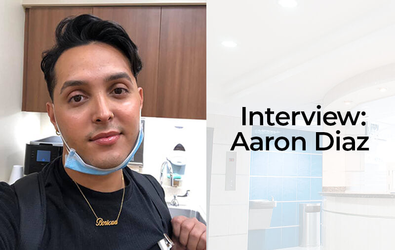 Interview: Texas Hospital Worker Aaron Diaz Talks About His Experience with COVID-19