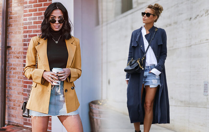 How to Wear Your Favorite Summer Styles in Fall | Can I wear denim shorts in the fall? Can I wear denim skirts in the fall?