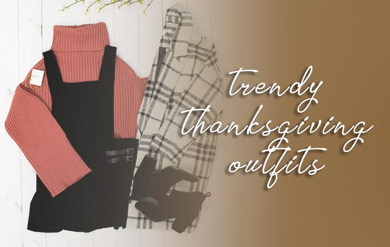 Trendy Thanksgiving Outfits 2019 | What to Wear on Thanksgiving | Shop Discount Designer Fashion at Muse Boutique Outlet | Up to 90% Off Retail | Get 25% Off Your First Order