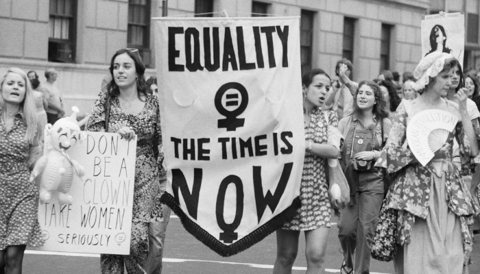 International Women's Day Was Officially Adopted by The UN in 1975 | Women Protesting |Celebrating International Women's Day: 8 Inspirational Facts About Women