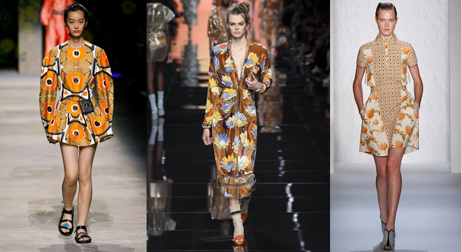 70's printed floral dresses spring 2020 fashion. The spring summer 2020 trend forecast is here. Find spring 2020 fashion trends up to 90% off retail. Read about the Spring 2020 trends blog. How to wear the latest spring 2020 fashion trends. Shop Muse Outlet. International Shipping, 15% off your first order.