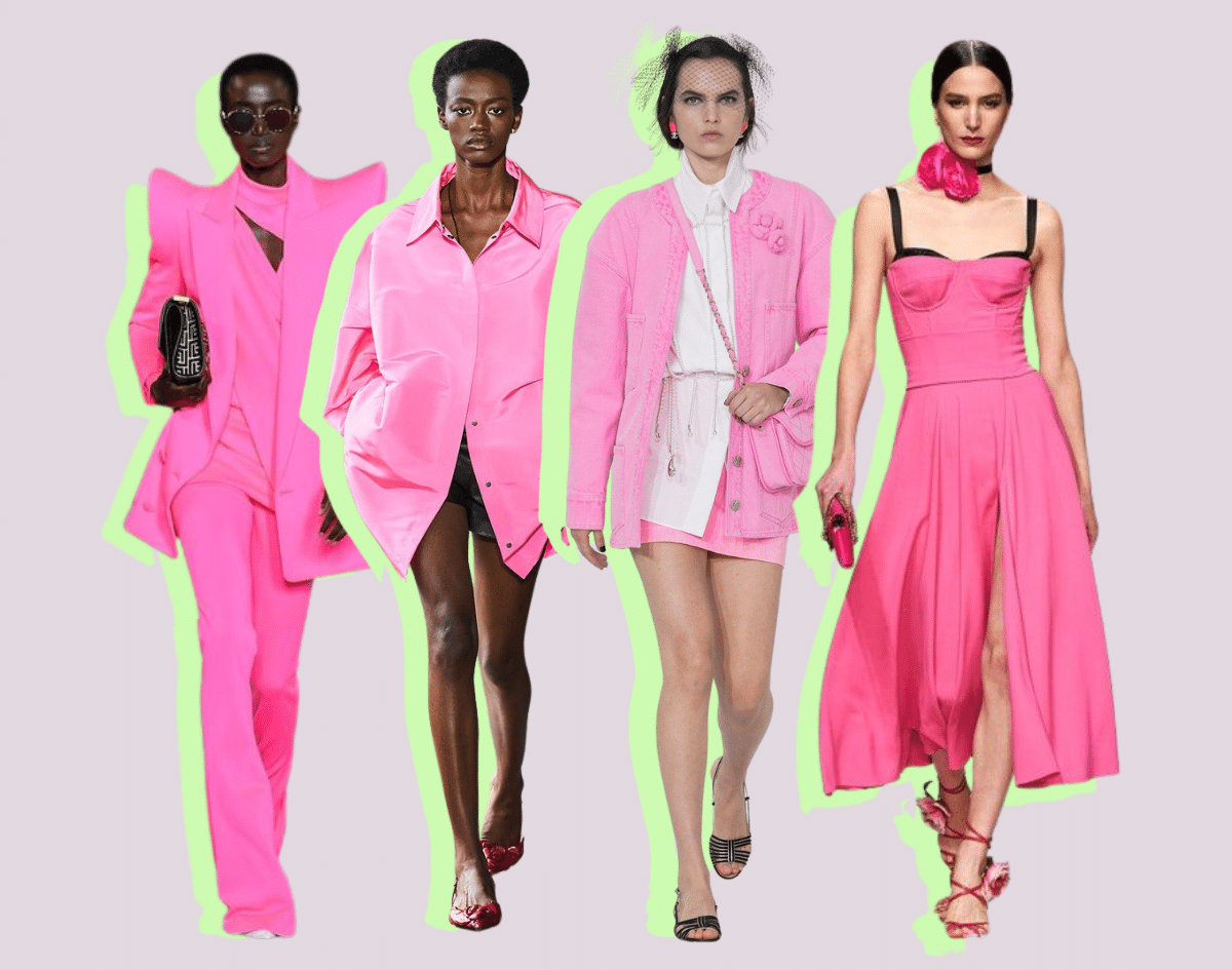 Bubble Gum Pink Styles | Spring Summer Fashion Colors 2021 - Top Trends to Wear