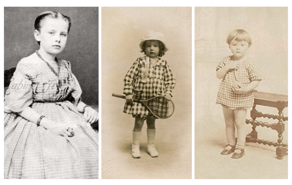 Early 20th Century Gingham Fabric - The History Behind The Fashion Old-Fashioned Trend