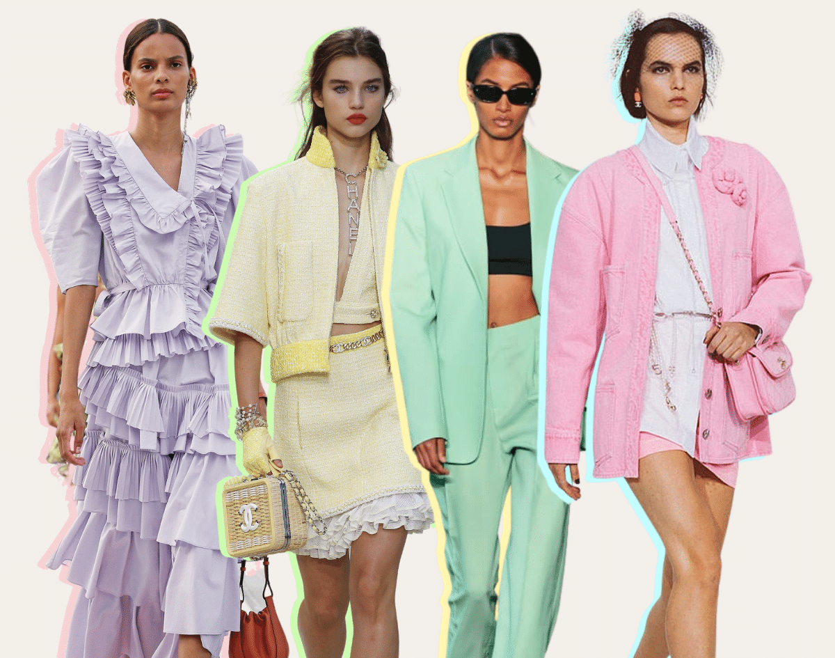 Shop Pastel Colors | Spring Summer Fashion Colors 2021 - Top Trends to Wear