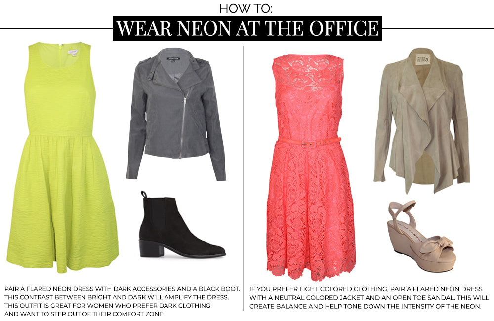 HOW TO WEAR NEON AT THE OFFICE