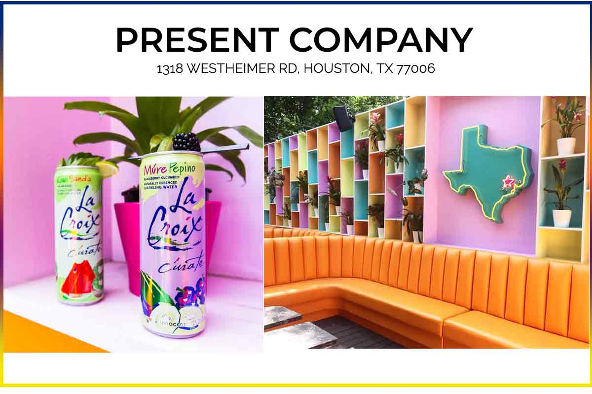 Present Company Bar Houston Texas | Best bars in houston | best bars to take pictures for instagram  | What to eat in houston, wear to eat in houston, where the locals eat houston, where to eat in houston tx