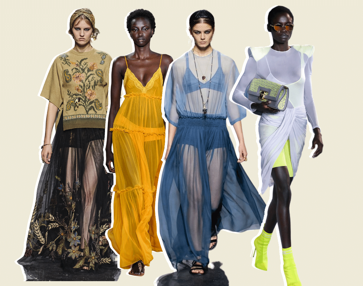 Sheer/Mesh Styles | Spring Summer Fashion 2021 - Top Trends to Wear