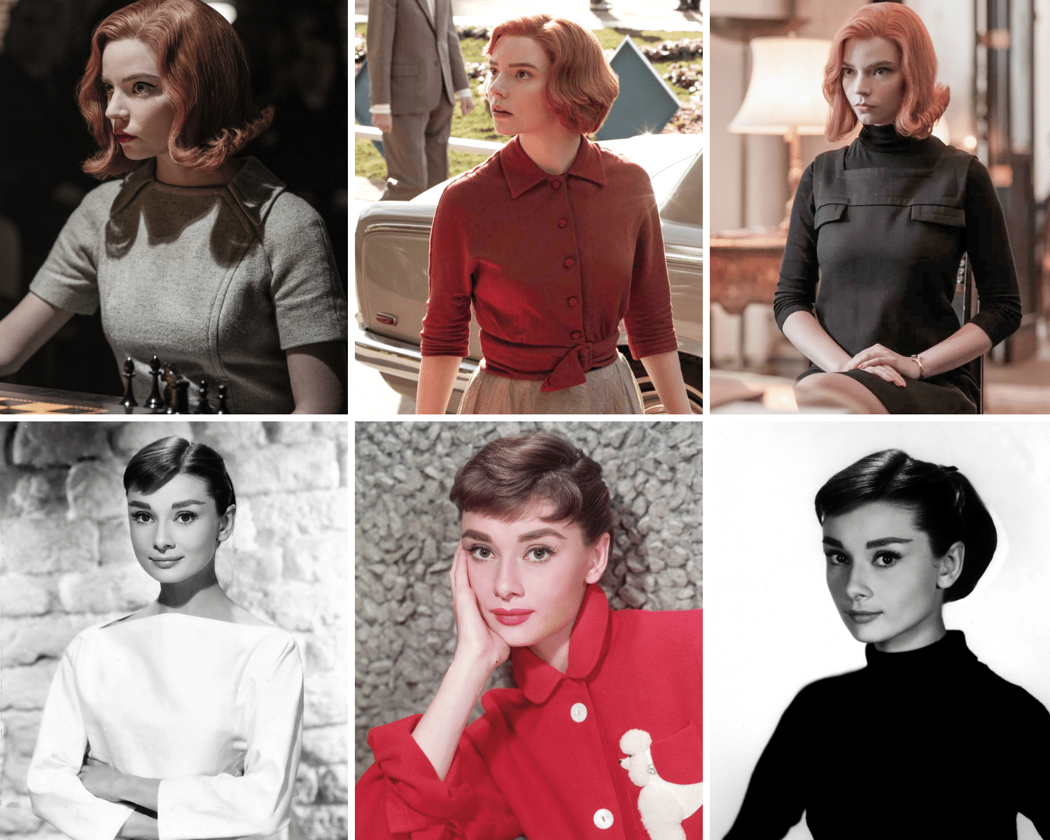 Audrey Hepburn 60's Style | Here's where to buy queens gambit clothes/outfits | Beth Harmon's Most Iconic Outfits | Queen's Gambit Style Guide: How to Wear Beth Harmon's '60s Fashion Outfits in 2021 | Muse Boutique Outlet