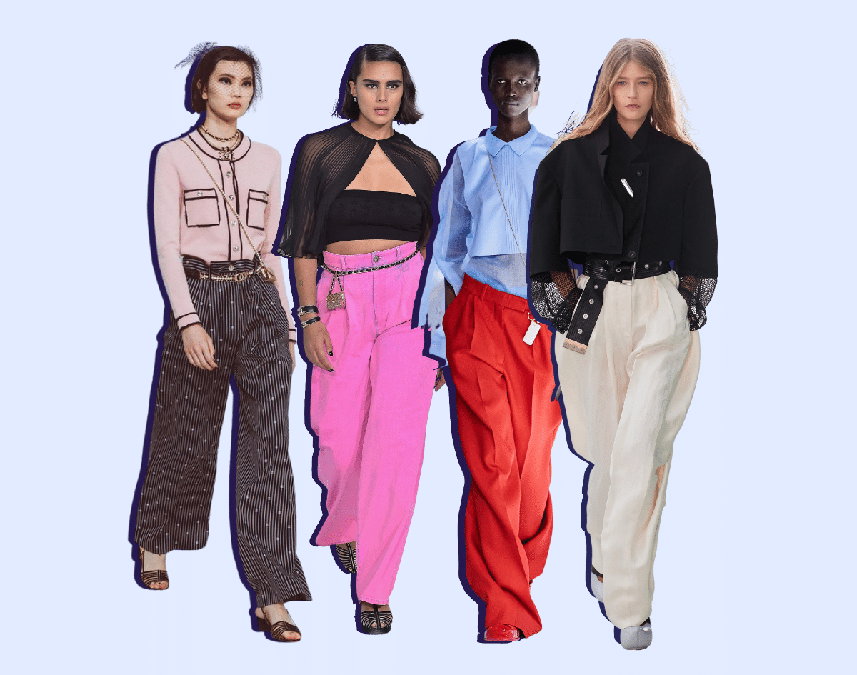 Wide Leg Pants | Spring Summer Fashion 2021 - Top Trends to Wear
