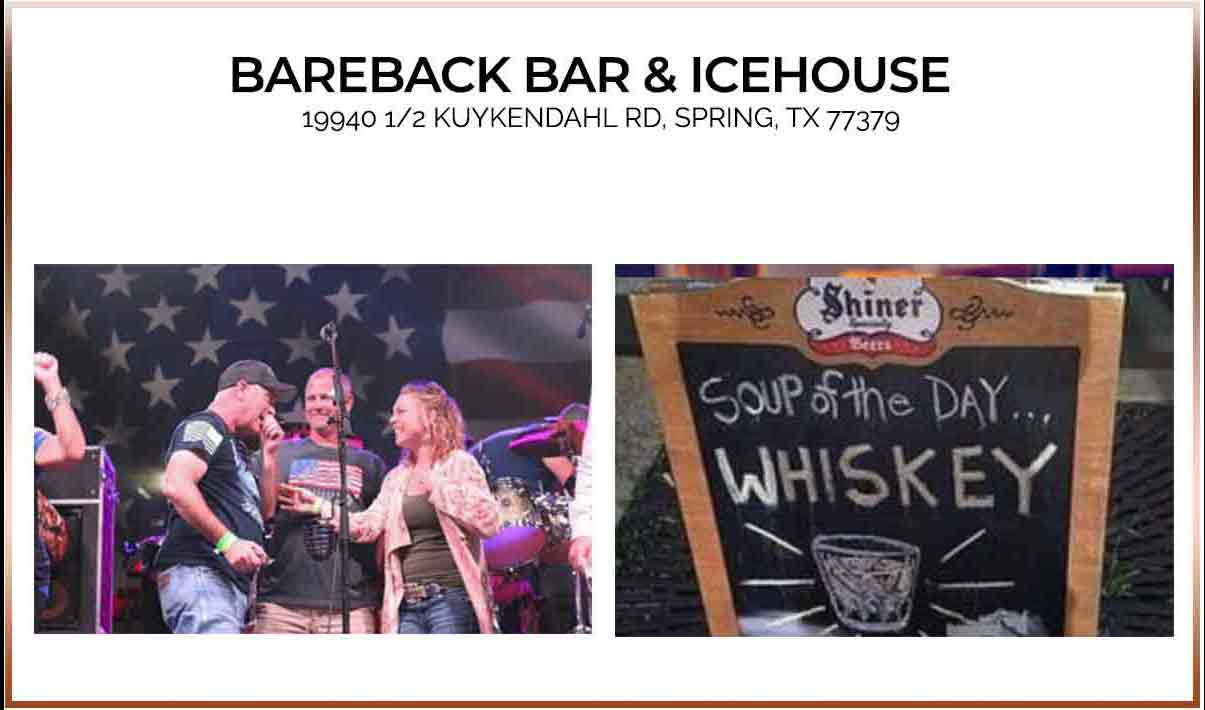 Bareback Grill in Spring Texas | What to eat in houston, wear to eat in houston, where the locals eat houston, where to eat in houston tx