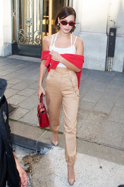 Trend to Try: Cargo Pants | Bella Hadid Cargo Pants