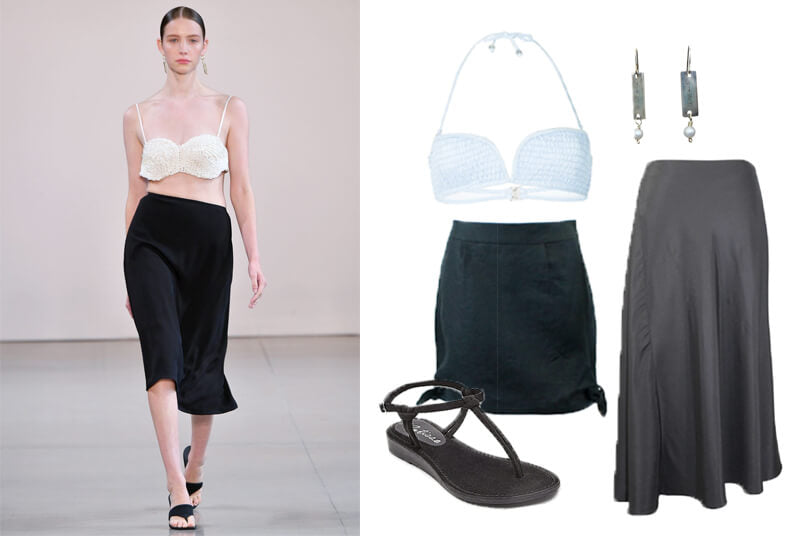 Bevza fashion spring 2020 bra top runway. The spring summer 2020 trend forecast is here. Find spring 2020 fashion trends up to 90% off retail. Read about the Spring 2020 trends blog. How to wear the latest spring 2020 fashion trends. Shop Muse Outlet. International Shipping, 15% off your first order.