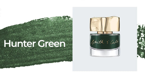 Smith & Cult - Darjeeling Darling - Hunter Green - Trending Nail Polish Colors 2020