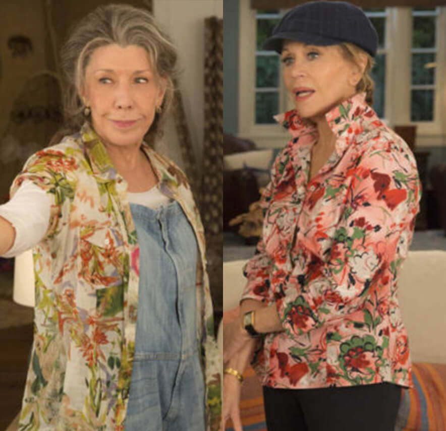 Get inspired and shop Grace and Frankie Outfits, Grace and Frankie styles, Frankie and Grace clothes, and Grace and Frankie costumes. Save at Muse Boutique Outlet | Up to 90% Off Designer Fashion | 15% off your first order | International Shipping