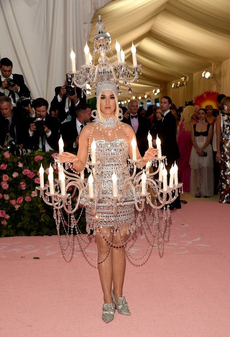 Katy Perry Met Gala in Moschino