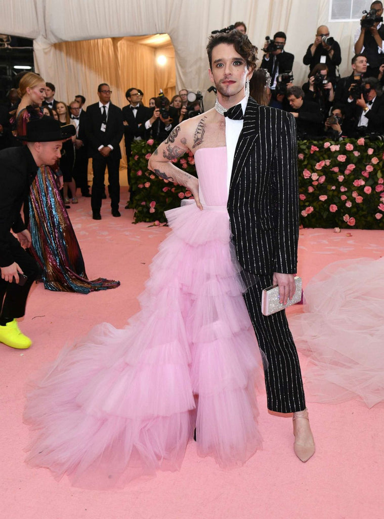Michael Urie in Christian Siriano