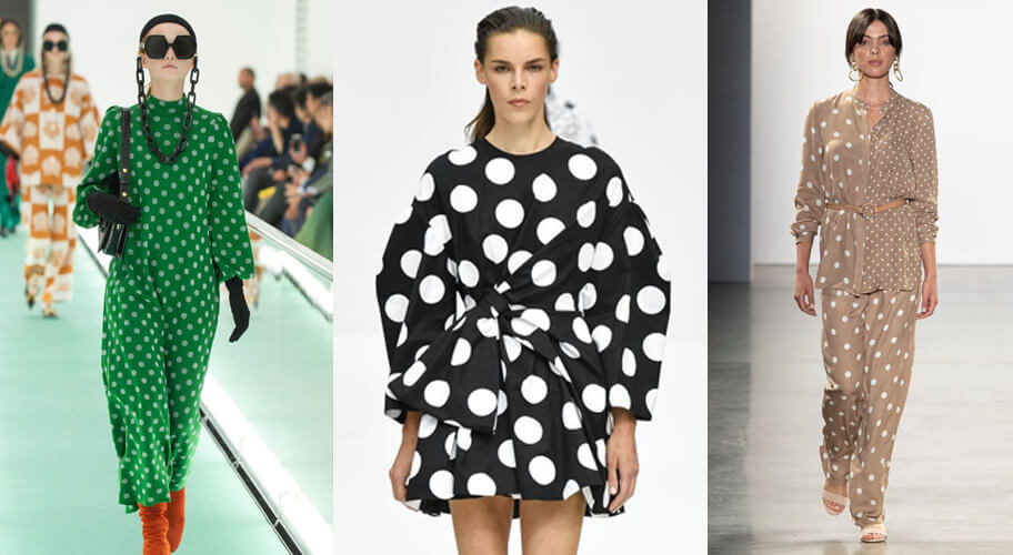 Polka dots spring fashion 2020 runway. The spring summer 2020 trend forecast is here. Find spring 2020 fashion trends up to 90% off retail. Read about the Spring 2020 trends blog. How to wear the latest spring 2020 fashion trends. Shop Muse Outlet. International Shipping, 15% off your first order.