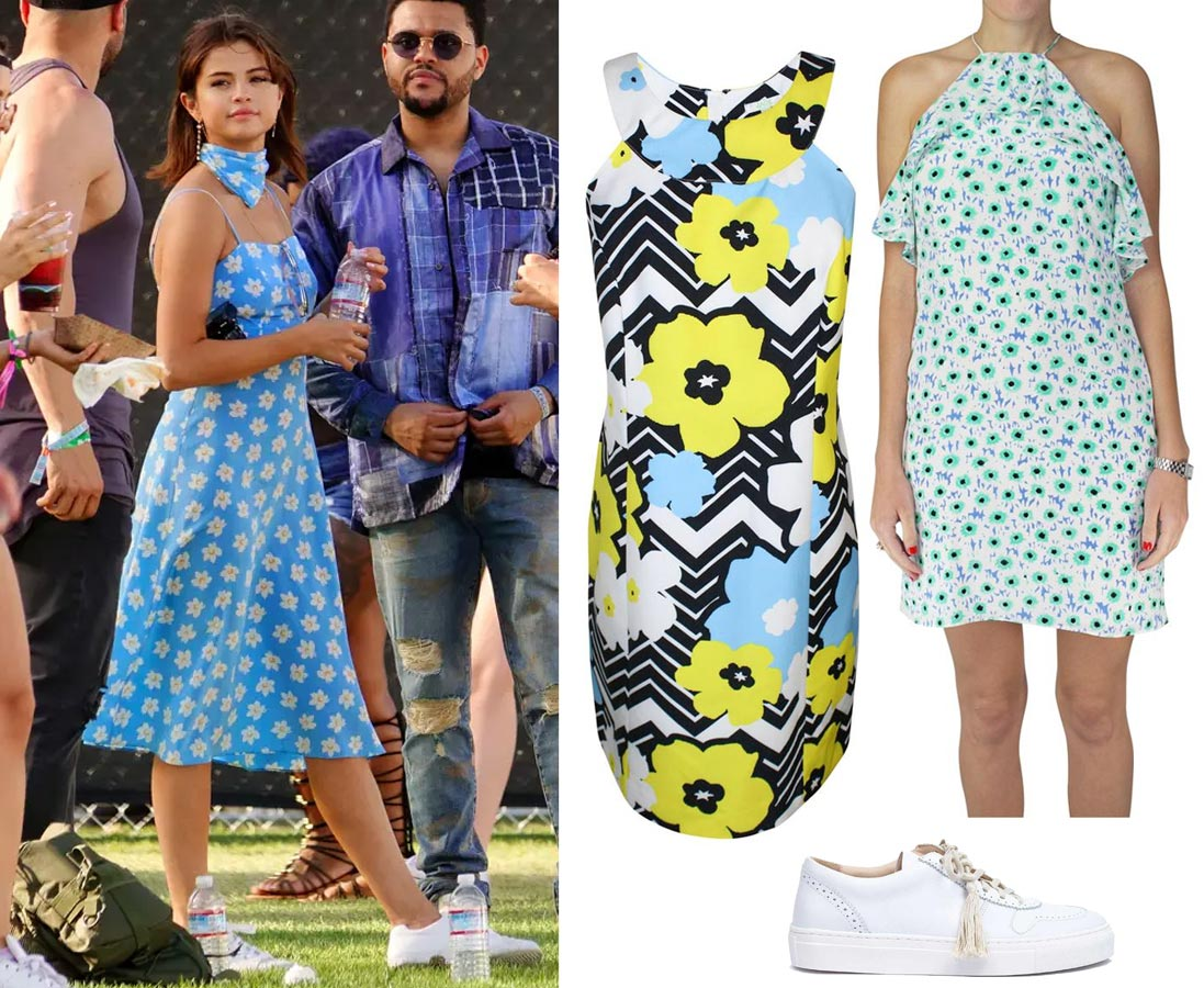 What to Wear to a Music Festival - Celebrity Inspired Looks | Selena Gomez, 2017