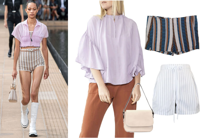 Longchamp hot pants runway spring 2020 fashion trends. The spring summer 2020 trend forecast is here. Find spring 2020 fashion trends up to 90% off retail. Read about the Spring 2020 trends blog. How to wear the latest spring 2020 fashion trends. Shop Muse Outlet. International Shipping, 15% off your first order.