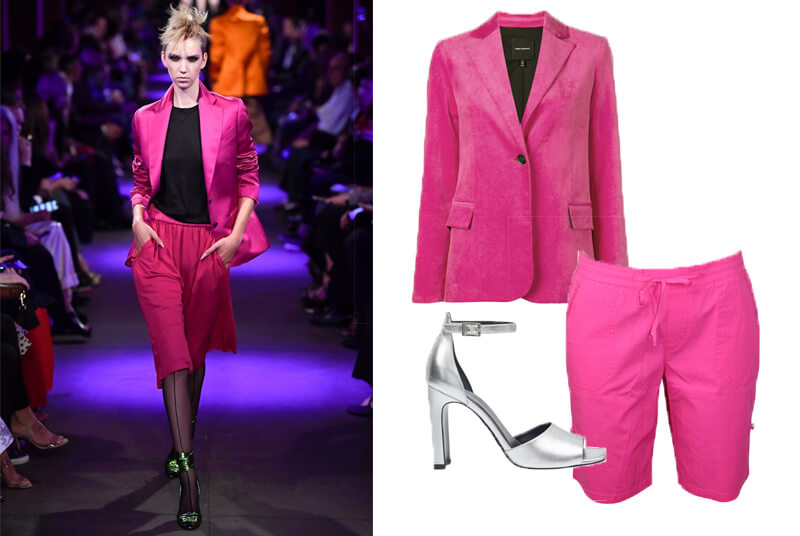 Tom Ford Pink Bermuda shorts on the spring fashion 2020 runway. The spring summer 2020 trend forecast is here. Find spring 2020 fashion trends up to 90% off retail. Read about the Spring 2020 trends blog. How to wear the latest spring 2020 fashion trends. Shop Muse Outlet. International Shipping, 15% off your first order.