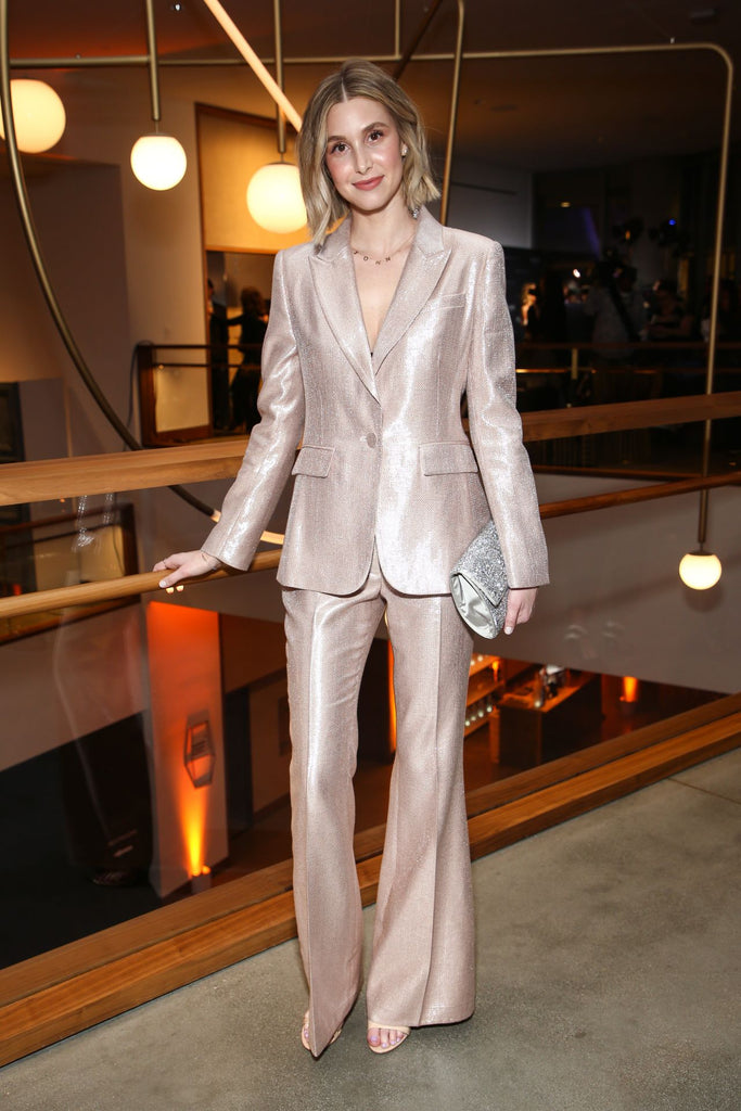 Metallic Must-Haves by Rachel Zoe | Whitney Port in The Eden Pants by Rachel Zoe on Sale