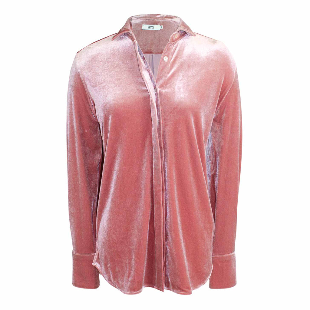 18c3364a 0039 Italy Odetta Blouse Extra Small Blush Muse Boutique Outlet