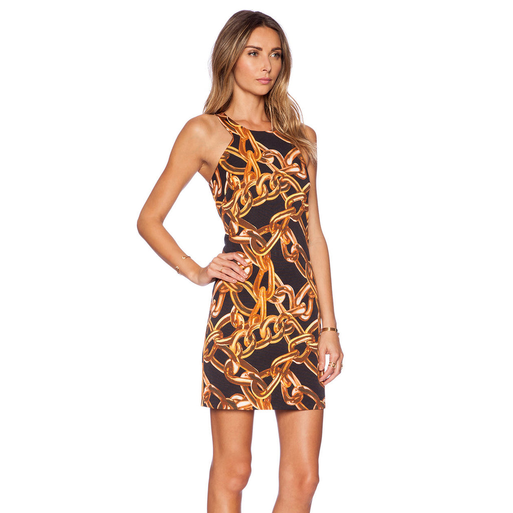 Trina Turk  Chain Print Dress Size  Muse Boutique Outlet | Shop Designer Clearance Dresses on Sale | Up to 90% Off Designer Fashion