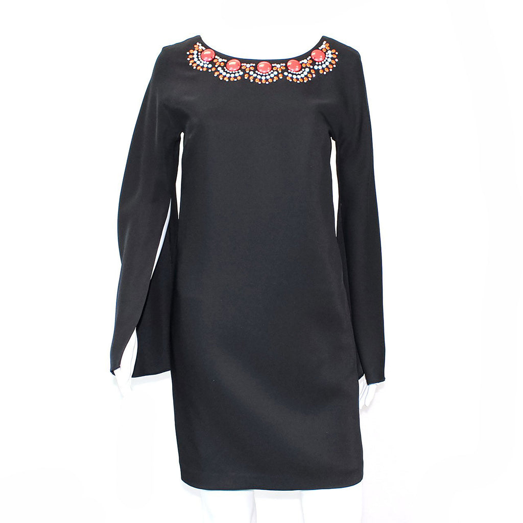 Cynthia Steffe Black Beaded Shift Dress Size 2 Muse Boutique Outlet | Shop Designer Clearance Dresses on Sale | Up to 90% Off Designer Fashion