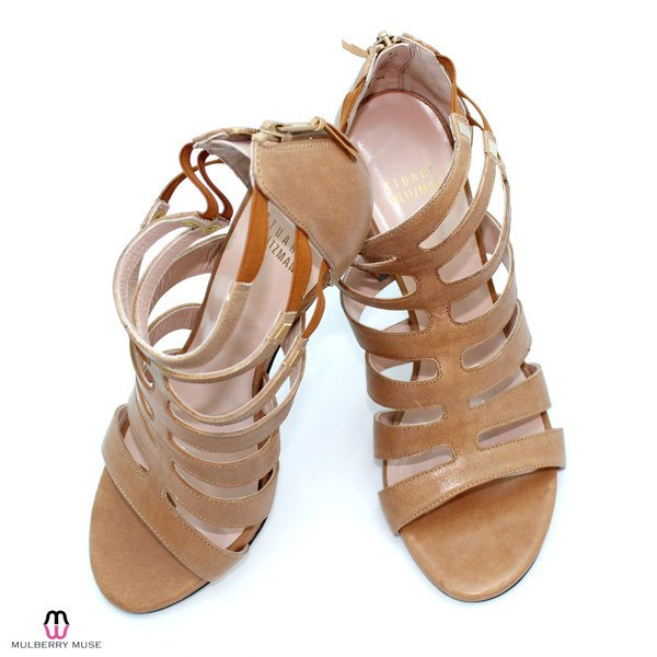 Stuart Weitzman Camel Outing Sandal Size 9 Muse Boutique Outlet | Shop Designer Clearance Shoes on Sale | Up to 90% Off Designer Fashion
