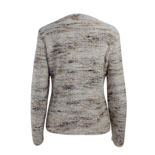 Javier Simora Wool Blend Textured Jacket   Muse Boutique Outlet