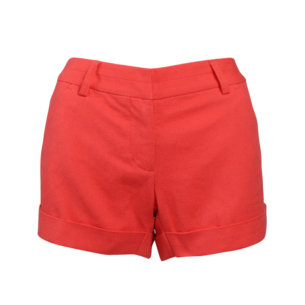 Annie Griffin Salmon Cotton Pique Short Size 0 Muse Boutique Outlet | Shop Designer Clearance Shorts on Sale | Up to 90% Off Designer Fashion